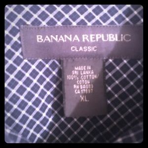 XL LIKE NEW, Banana Republic men's button up